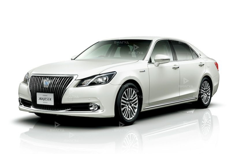 Диагностика ошибок сканером Toyota Crown Majesta в Мытищах